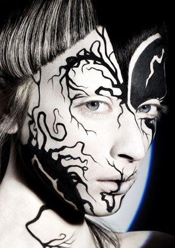Alex Box @Illamasqua Ltd Ltd Ltd Ltd Ltd #halloween #makeup #costume #inspiration