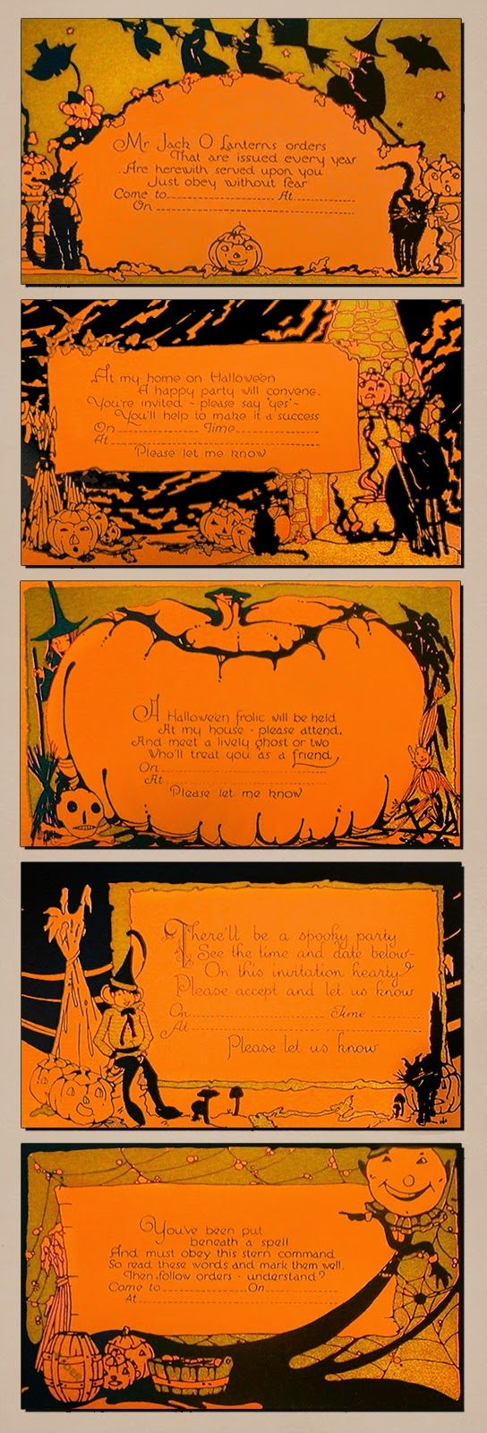 Pin by Patti Cooper on This is Halloween.   Pinterest   Vintage ...