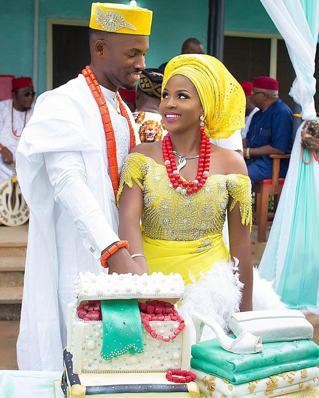 Traditional: Pin By EbiStyleCouture On Nigerian Traditonal Wedding
