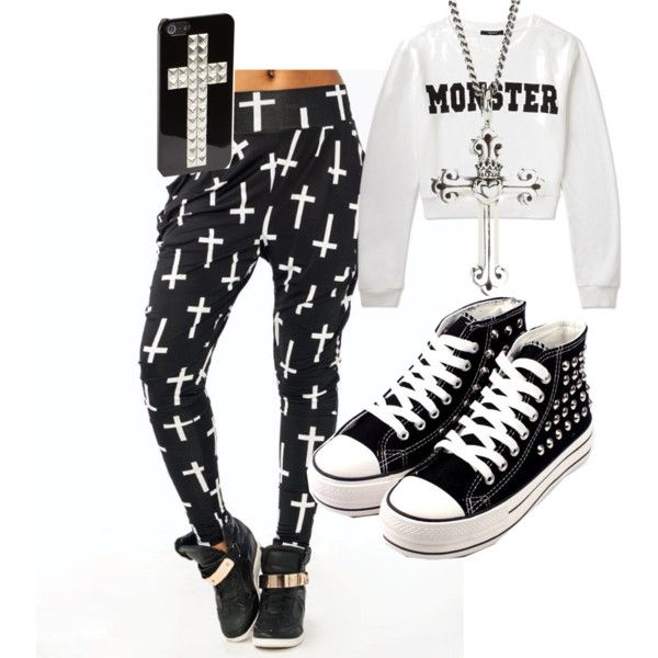 A fashion look from July 2013 featuring Forever 21 sweatshirts, King Baby Studio necklaces and Natasha Couture tech accessories. Browse and shop related looks.