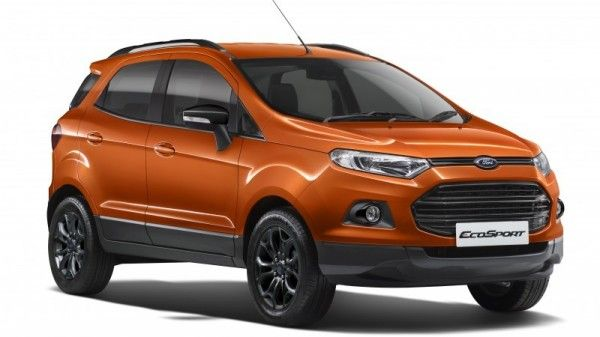 Ford Ecosport Black Edition Unveiled At Rs 8 58 Lakh