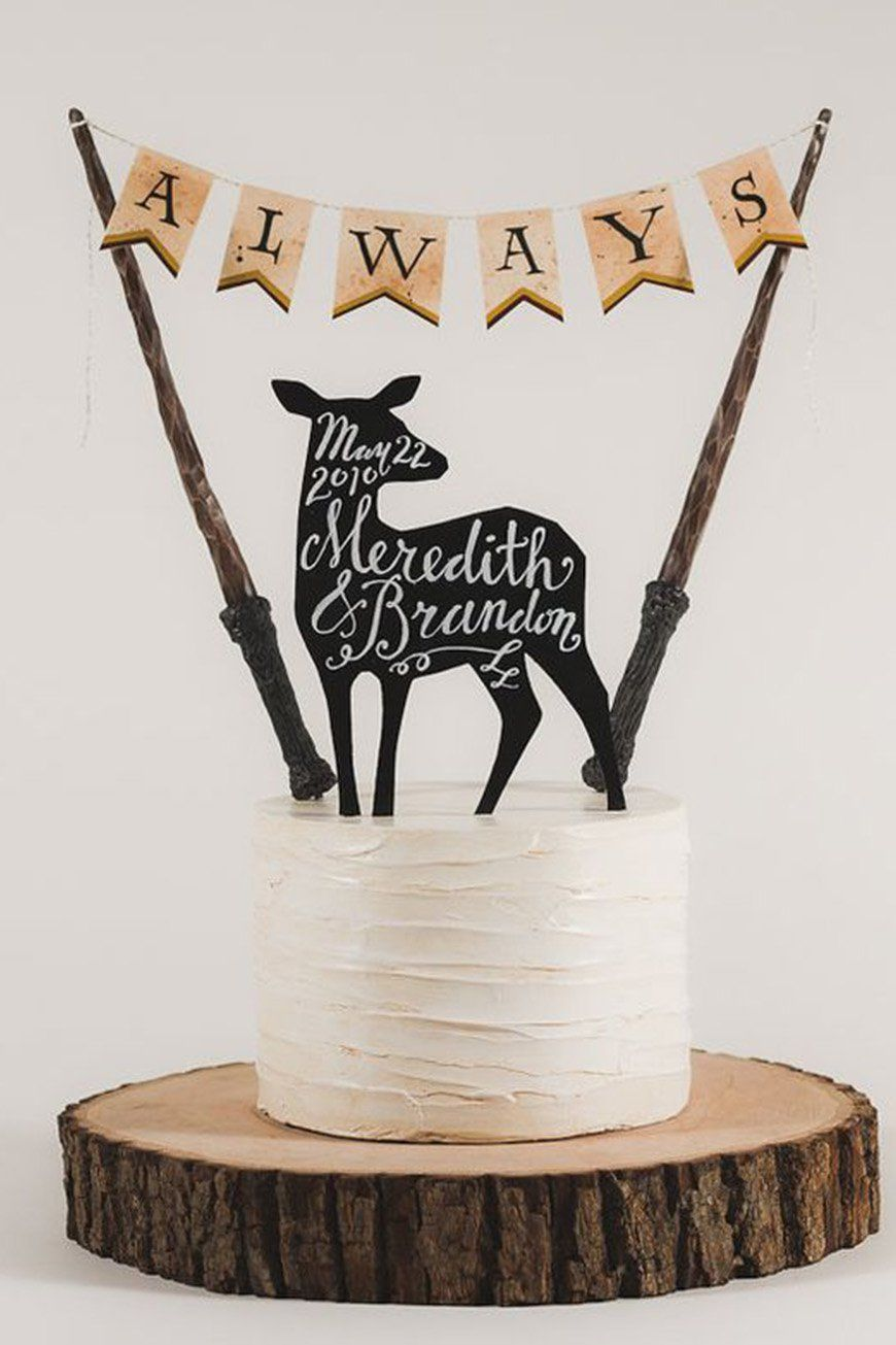 A Magical Harry Potter Theme For Hall… | CHWV ♥ Halloween Weddings ...