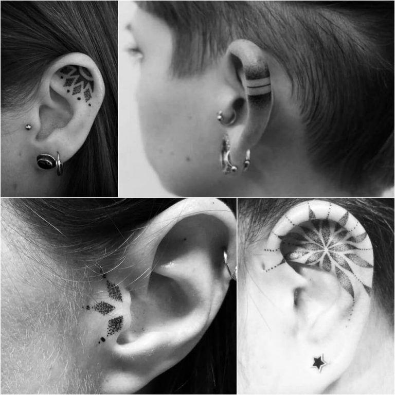 Photo of Dotwork Tattoo – Geometric Tattoos with Advanced Spiritual Symbols