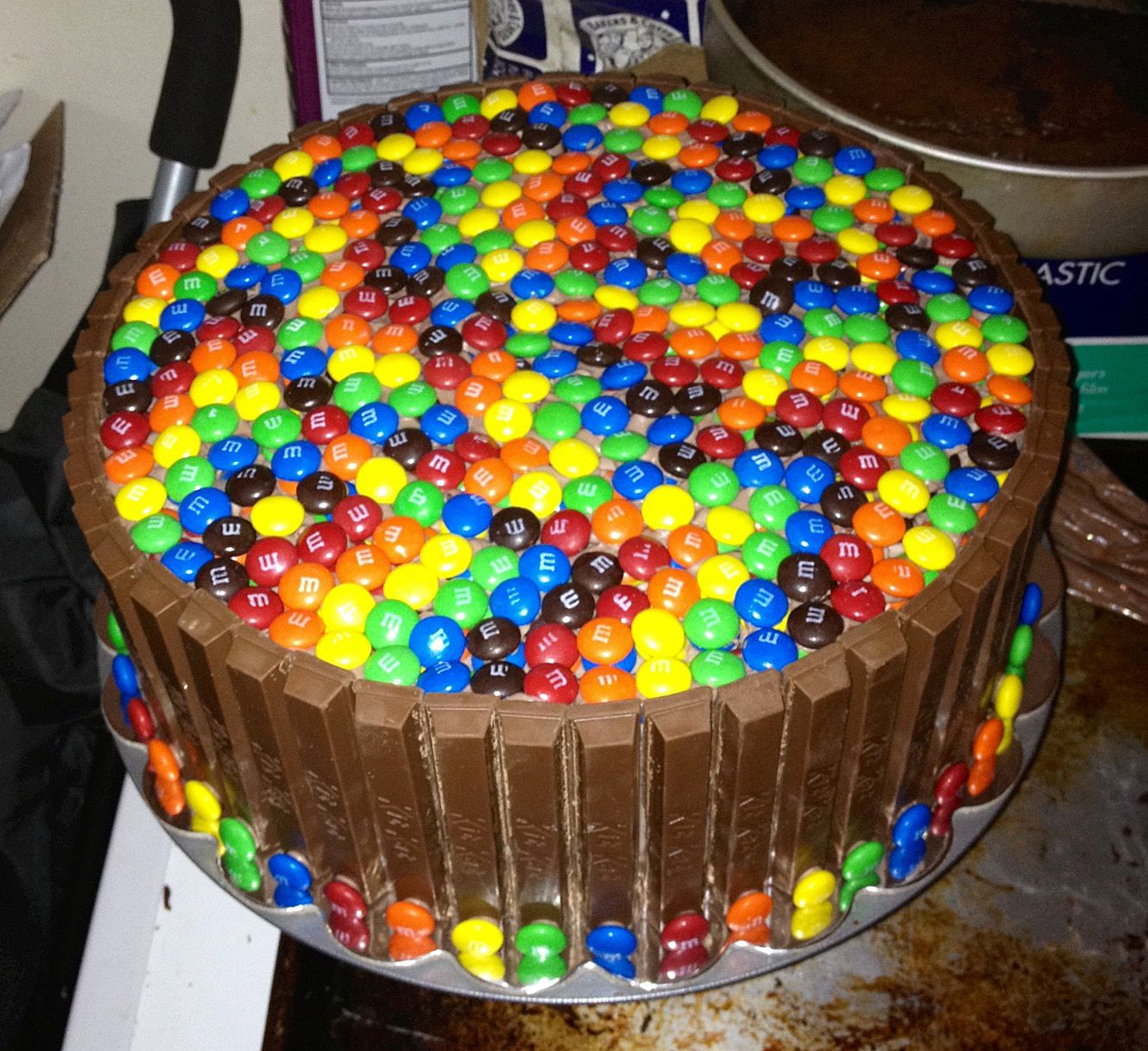 M Amp M Kitkat Cake Food Chocolate Cake Chocolate Fudge
