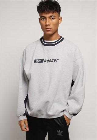 Paleto claramente ganancia  VINTAGE REEBOK SWEATSHIRT   Sweatshirts, Mens sweatshirts, Clothes