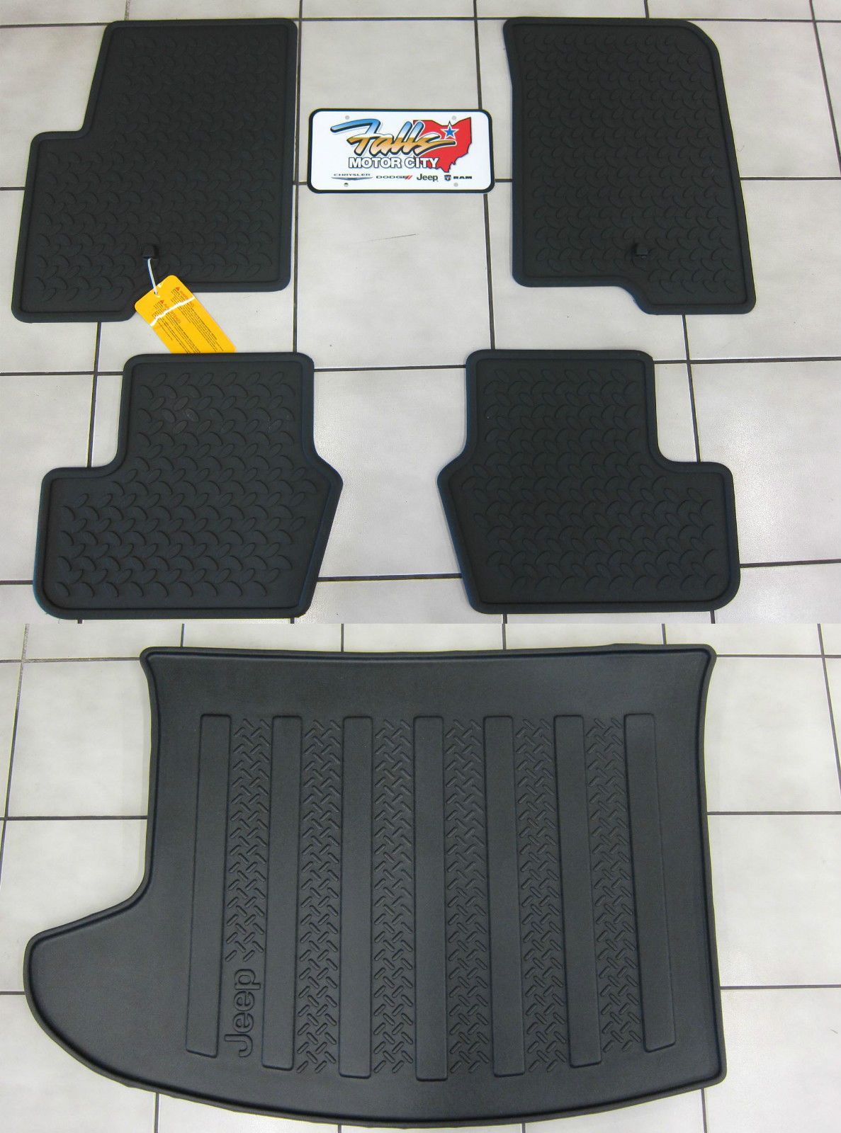 Awesome Amazing 2007 2016 Jeep Comp Patriot Rubber Slush Floor Mats Cargo Tray Liner