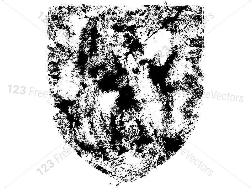 Grunge Shield Vector and Brush Pack01 in 2020