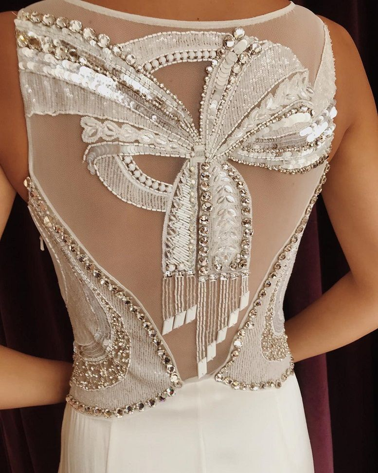 Stunning wedding dress with amazing details