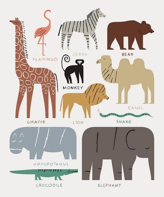 Animal Stack | Illustrations in 2019 | Giraffe illustration