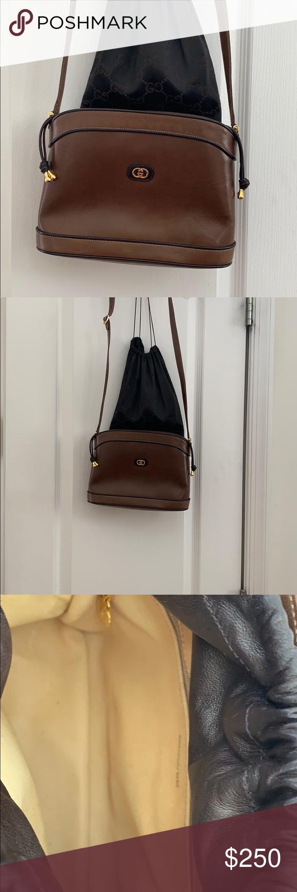 Gucci Handbag with original dust bag Beautiful Gucci over shoulder bag Minimal Gucci Handbag with original dust bag Beautiful Gucci over shoulder bag Minimal use Great co...