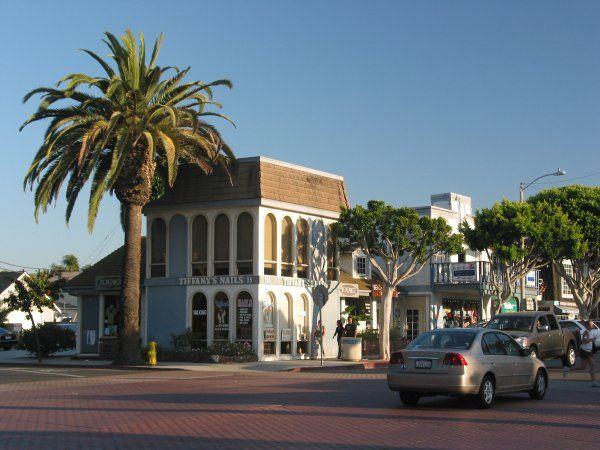 Main Street Seal Beach California