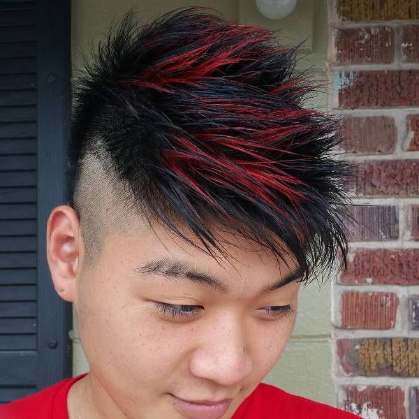 Funky Hairstyles For Short Hair ASIAN MEN HAIRSTYLES Pinterest - Brilliant stop motion video of a man getting a reverse haircut