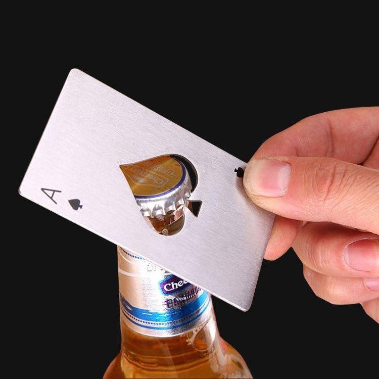 Bar Home Opener Poker Cards Bottle Kitchen Kitchen Accessories Bottle Opener