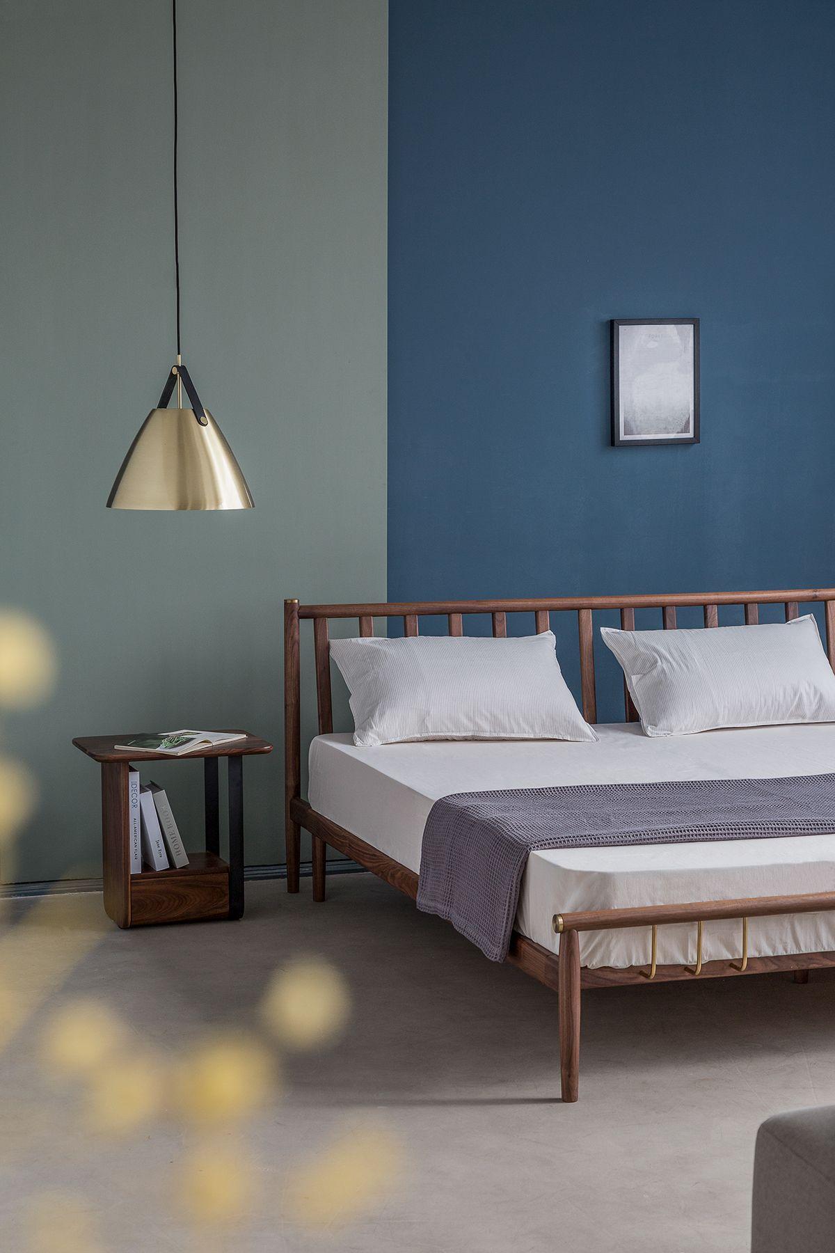 凭栏床 on Behance Bed headboard design, Furniture design