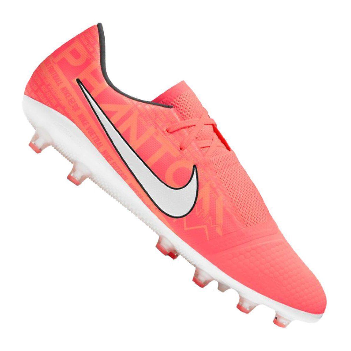 Buty Pilkarskie Nike Phantom Vnm Pro Ag Pro M Ao0574 810 Pomaranczowe Granatowe Football Shoes Nike Sneakers Nike