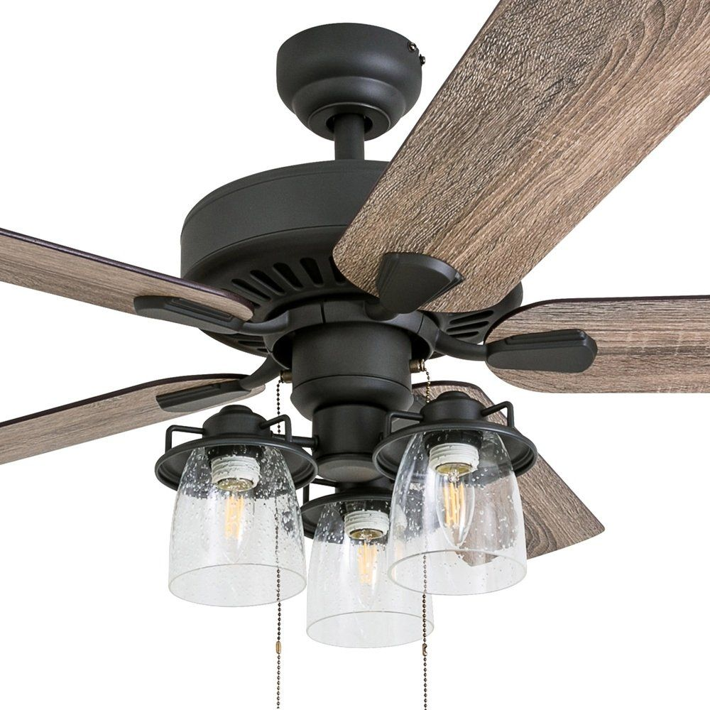 Prominence Home Briarcrest Aged Bronze 52-inch LED Ceiling Fan