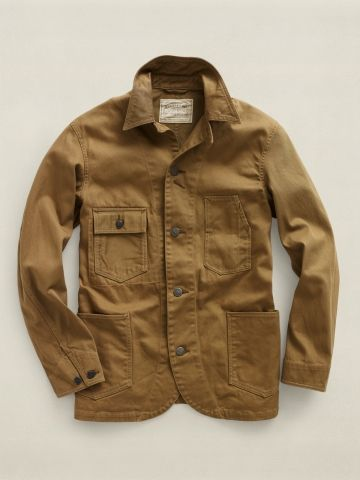 RRL Twill Railroad Jacket  b2037ecbfa7