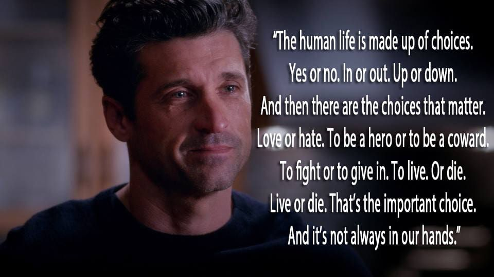 11 \'Grey\'s Anatomy\' Quotes That Will Shatter Your Heart | quotes ...