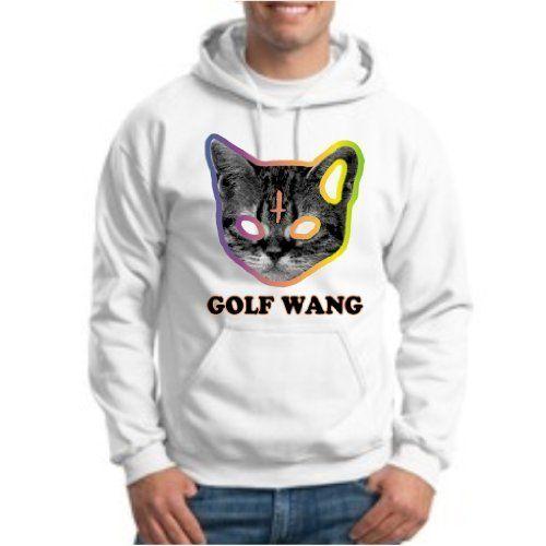 f923c1768ba6 Golf Wang Cat HOODIE OFWGKTA GolfWang TYLER the Creator ODD Future WolfGang  HOODIE Sweatshirt XI