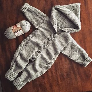 Photo of Baby Gray Jumpsuit