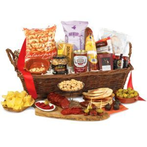 LaTienda.com - Gathering of Friends Gift Basket of Spanish Food $79