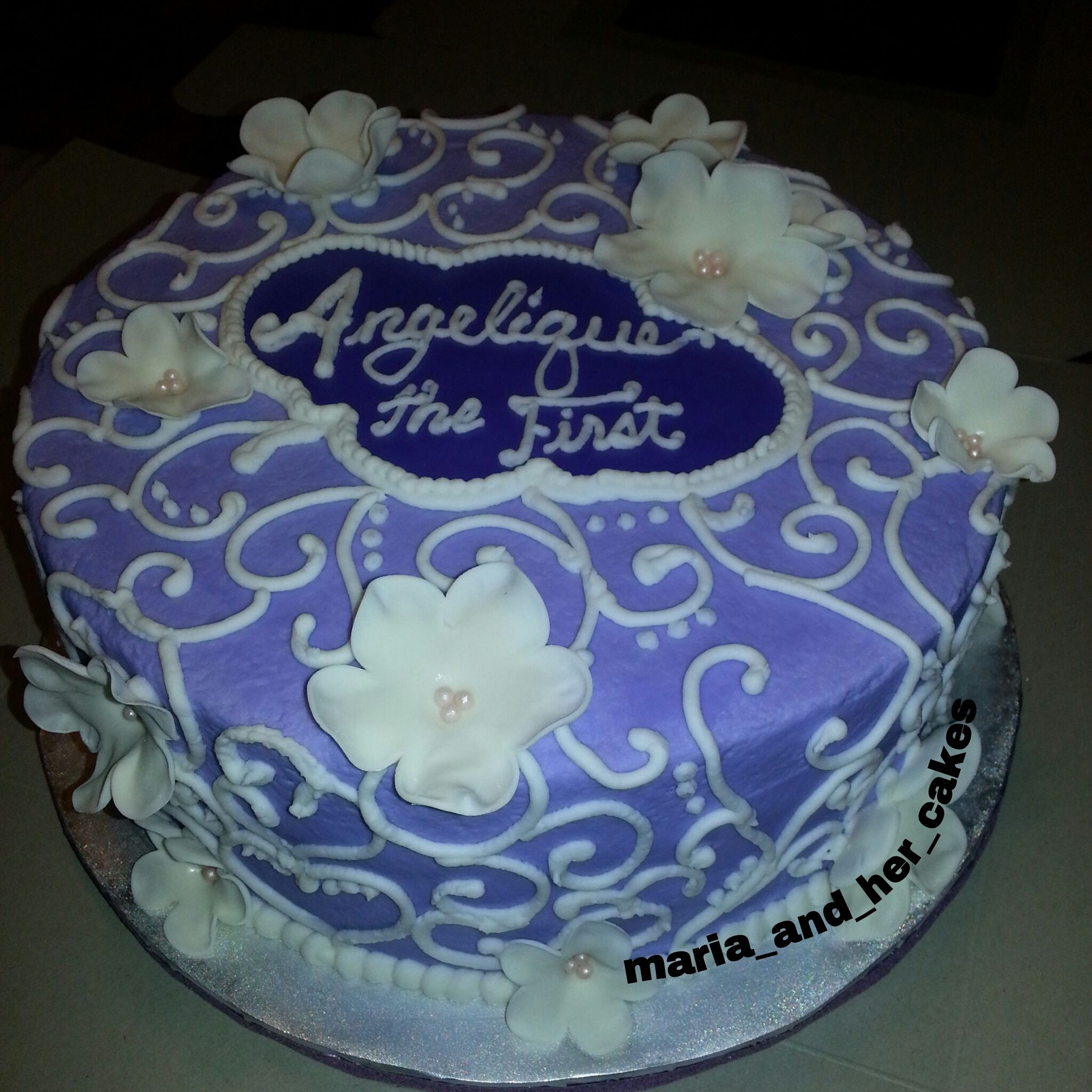 Birthday Cake based on Sofia The First