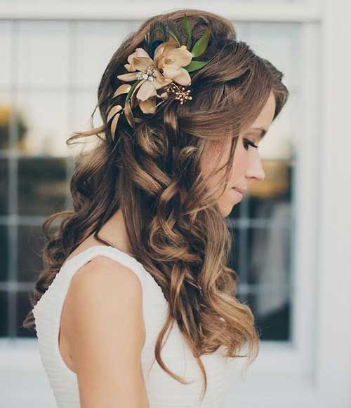 25 best bridesmaid hairstyles for long hair | frisur