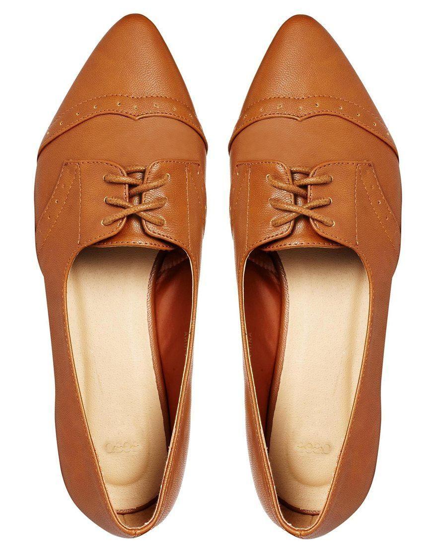 ASOS | ASOS MAGGIE MAY Pointed Flat Shoes at ASOS