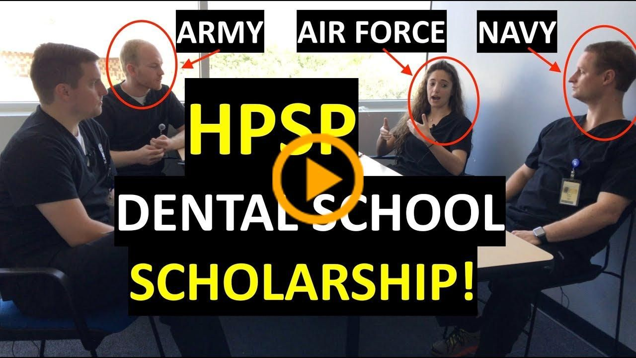 HPSP Q&A session with ARMY / AIR FORCE / NAVY dental