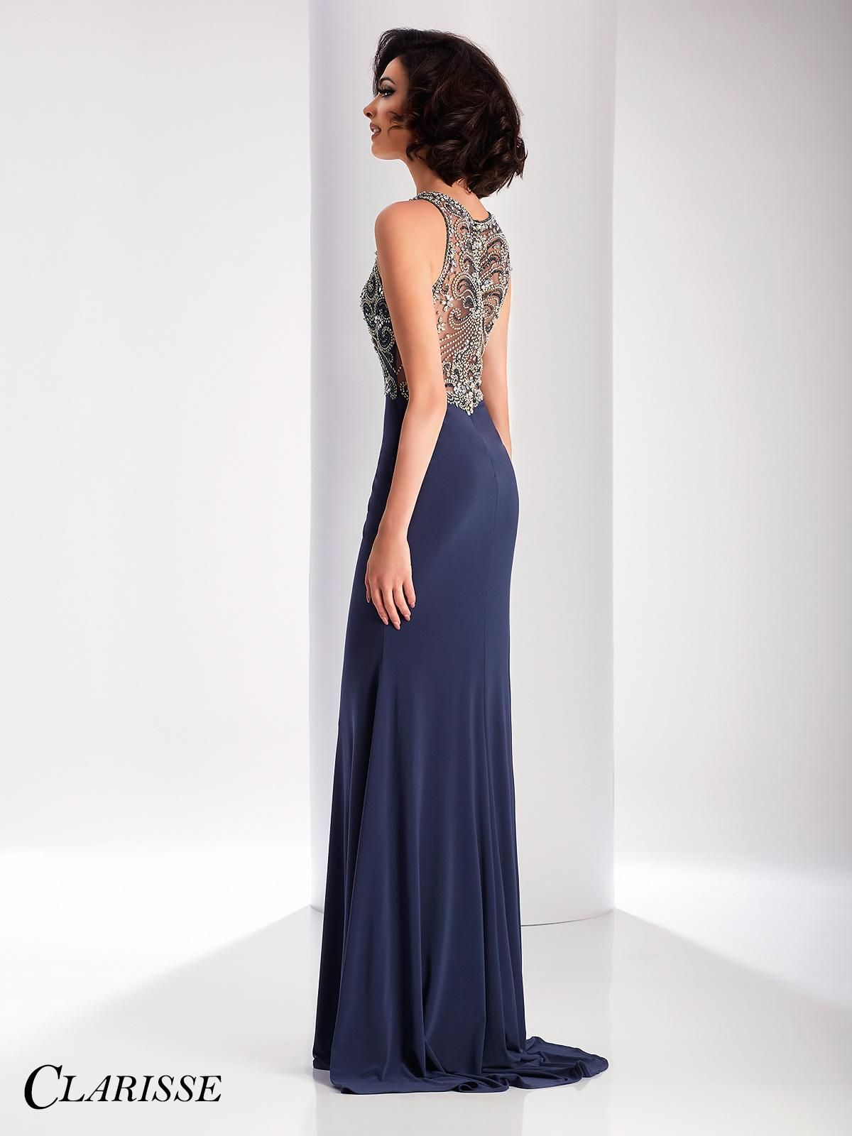 Sparkly fitted clarisse prom dress have all eyes on you