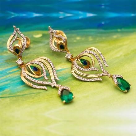 Linear Multi Pierced Earrings Jewellery India Online