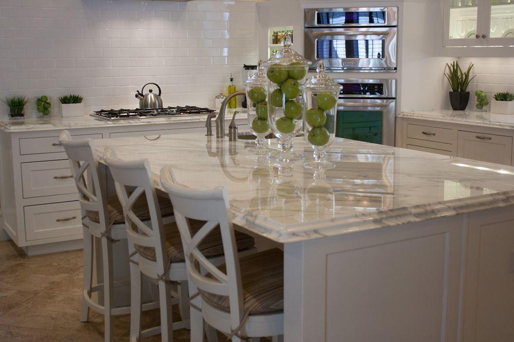 Calacutta Premium 2cm With Laminated Double Ogee Edge Kitchen Counter Edges Kitchen Family Rooms Kitchen Design