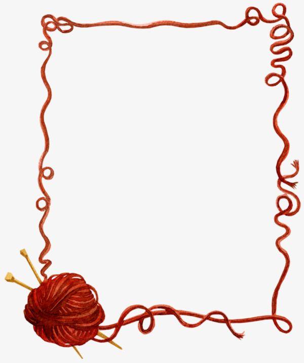 Une Balle De Laine De Materiau De Bordure De La Laine Balle De Laine De La Laine De Bordure Fichier Png Et Psd Pour Le Telechargement Libre Yarn Art Sewing Art