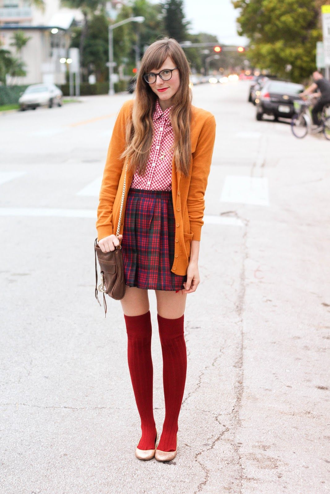 Steffys Pros And Cons Plaid Please Outfit Inspiration Fall Pinterest Geek Culture