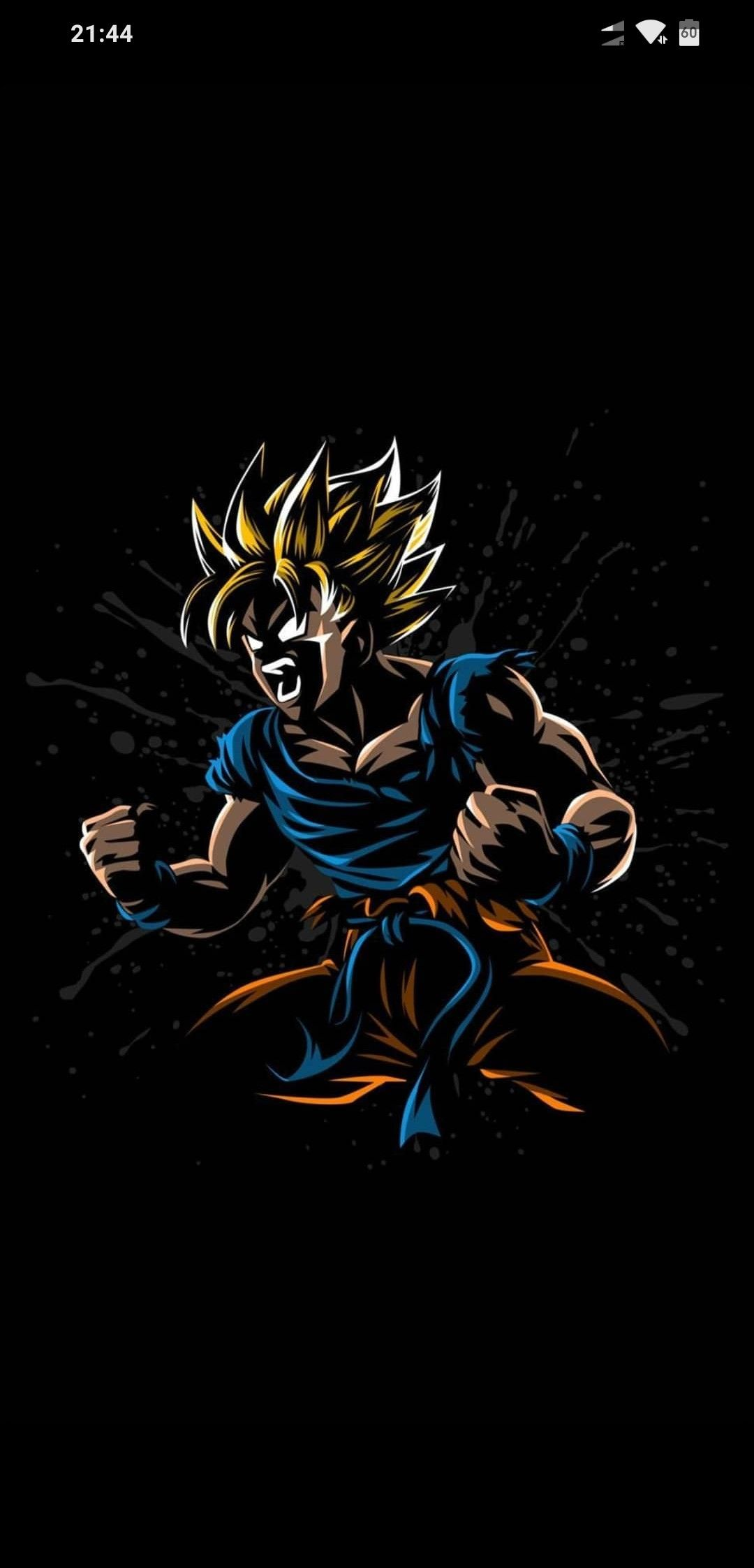 Attitude, Vegito, Dragon Ball Super, blue hair, 720x1280
