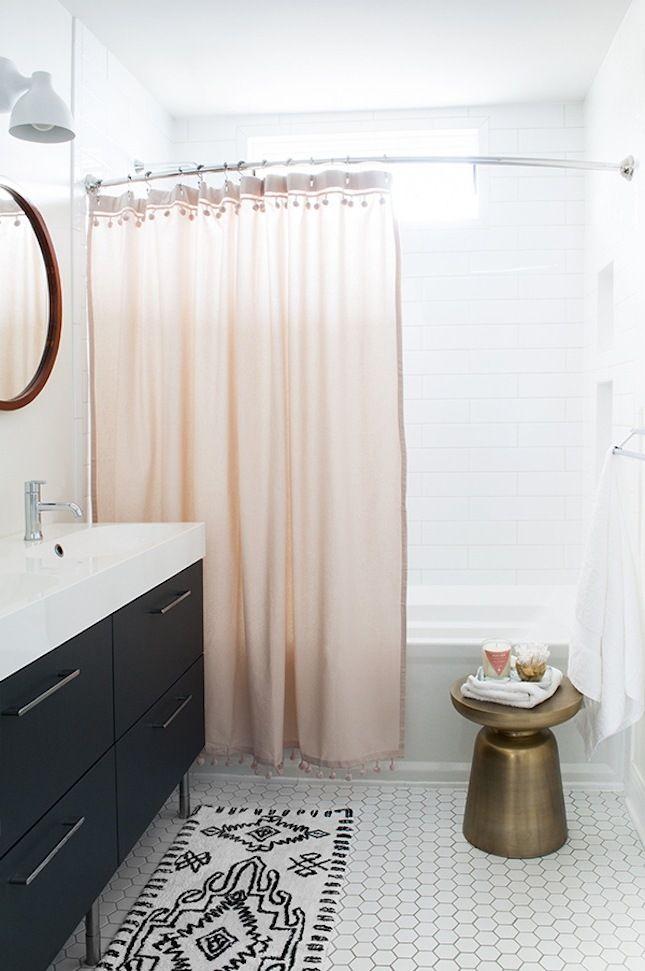 Rosa Schwarz Dekoideen Badezimmer Einrichten Modernes Bad Ideen