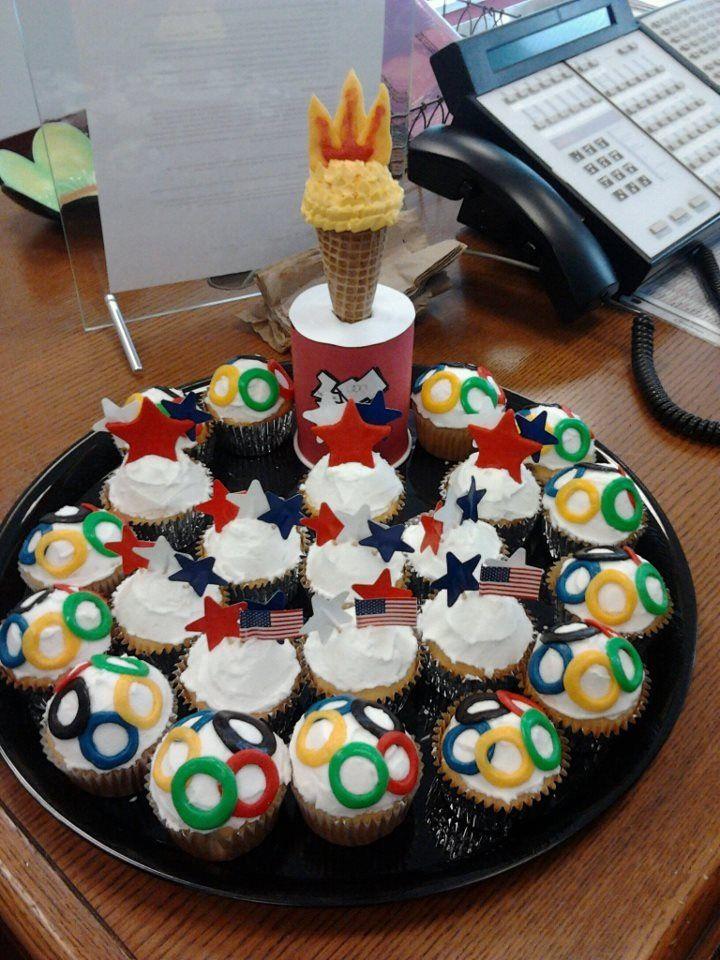 2012 london olympics cupcakes marshmallow fondant sugar