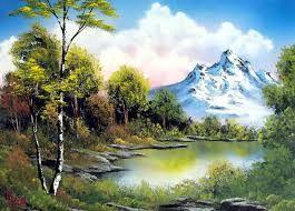 Resultado de imagen de paisajes bonitos para dibujar  Pintura
