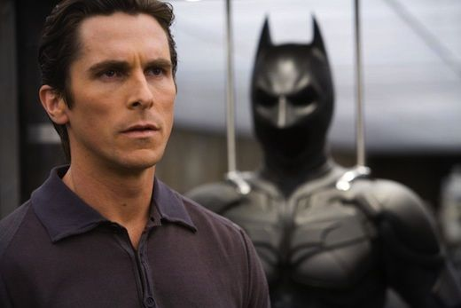 """""""It's a torch that should be handed from one actor to another. So I enjoy looking forward to what somebody else will come up with,"""" Christian Bale says of playing Batman in """"Justice League."""""""