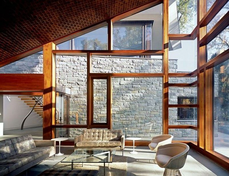 Modern Architecture House Glass modern glass house design from david jameson architect facade
