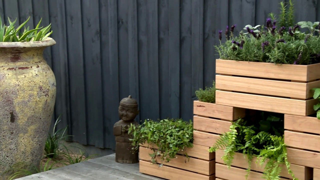 D I Y Stackable Wooden Planters D I Y At Bunnings 400 x 300