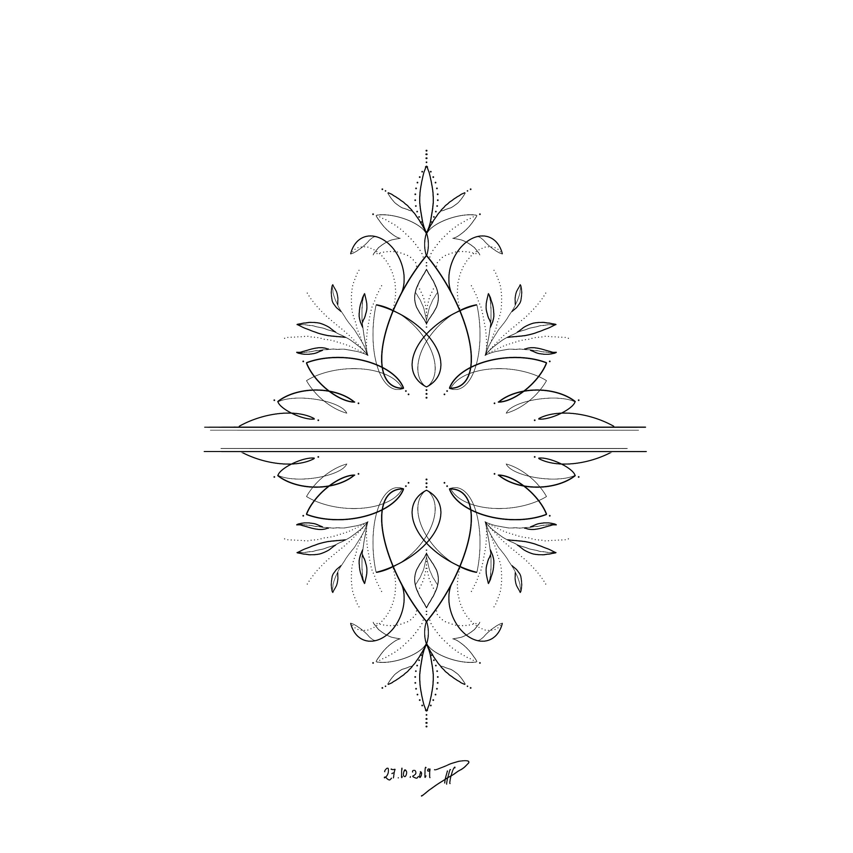 Ornamental Design No 10 By Philippa Ha In