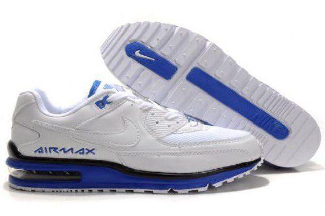 recognized brands 100% quality delicate colors 8nMlT Homme Nike Air Max LTD 2011 Blanc/Bleu Prix Pas cher | Nike ...