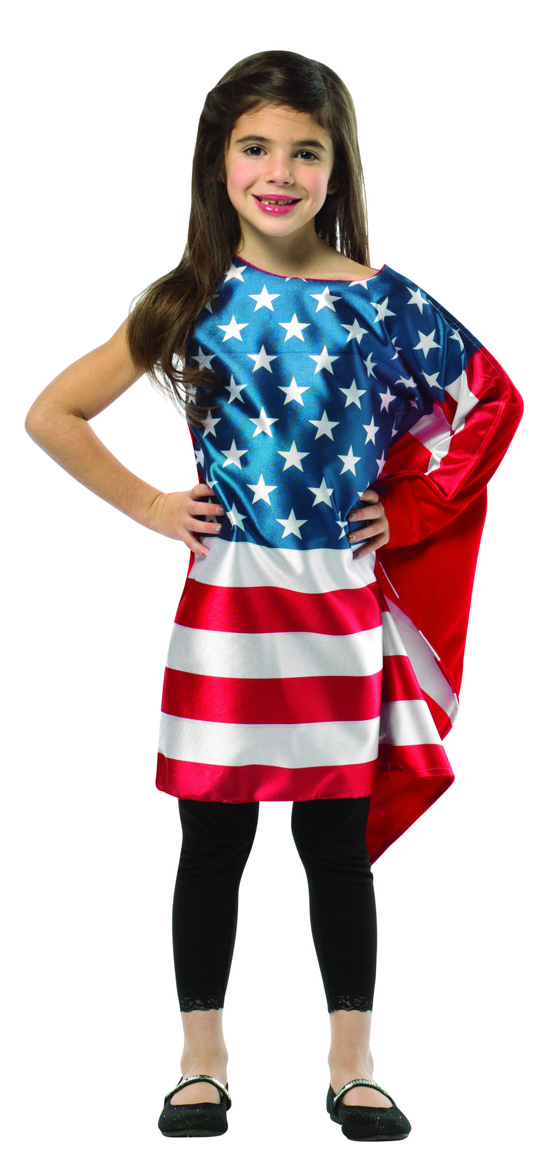 f04968905105 #1942-46 USA Flag Dress - Everyone will pledge allegiance to you in this  American Flag Dress! Show your loyalty to the red, white, and blue!