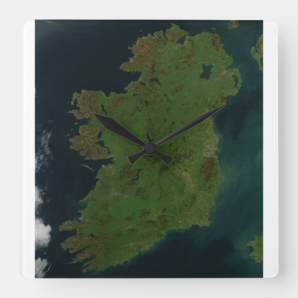 Ireland Satellite Map Clock | Products in 2019 | Satellite ... on restaurants of ireland, satellite maps of homes, 18th century map of ireland, physical map of ireland, satellite maps of usa, geological survey of ireland, map map of ireland, political system of ireland, terrain map of ireland, road map of ireland, europe map of ireland, topographic map of ireland, weather of ireland, street map of ireland, overhead view of ireland, world map of ireland, statistics of ireland, gps of ireland, interactive map of ireland, geographical map of ireland,