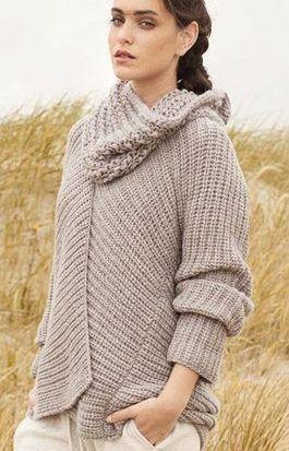 Pullover stricken mit do it yourself anleitung von for Strickanleitung strickjacke einfach