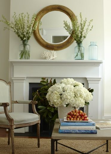 Lynn Morgan Design - living rooms - fireplace, recycled glass ...