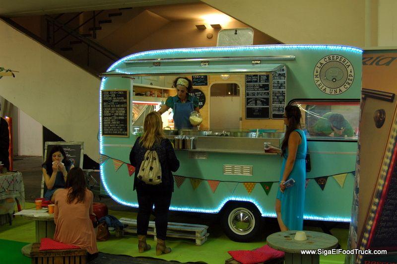 Sigaelfoodtruck Maria Una Crepe Street Food Food Truck Evento