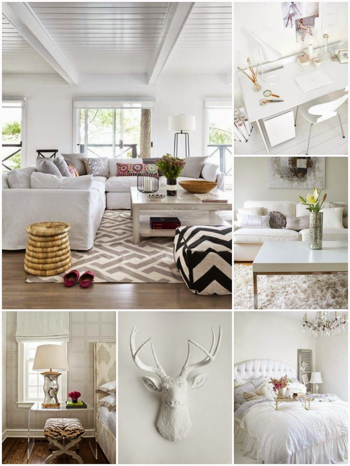 Warm And Cozy Dining Room Moodboard: Moodboard Monday: White