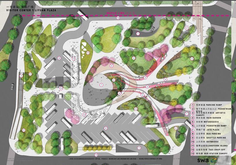 Pin By Kira Teng On Master Plan Landscape Plans Landscape Architecture Plan Landscape Design